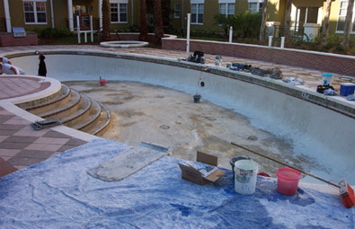 Step 5: Applying the Interior Pool Finish